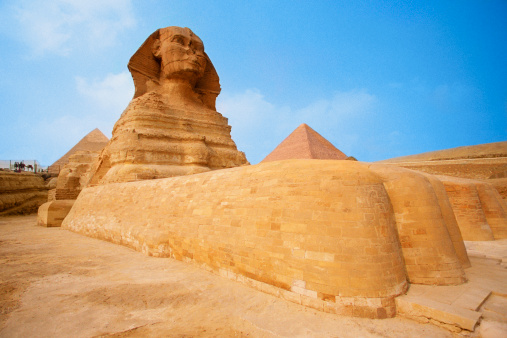 Ancient Civilization「The Sphinx at the Giza pyramid of Chephren, Egypt」:スマホ壁紙(7)