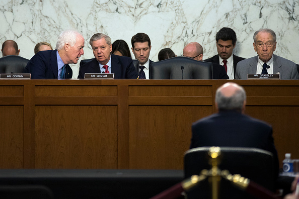 Drew Angerer「Senate Judiciary Committee Holds Hearing On Foreign Agents Registration Act」:写真・画像(14)[壁紙.com]