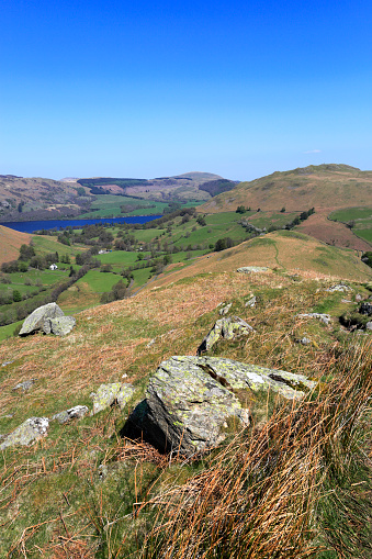 Color Image「View over Beda fell, Martindale, Lake District National Park」:スマホ壁紙(17)
