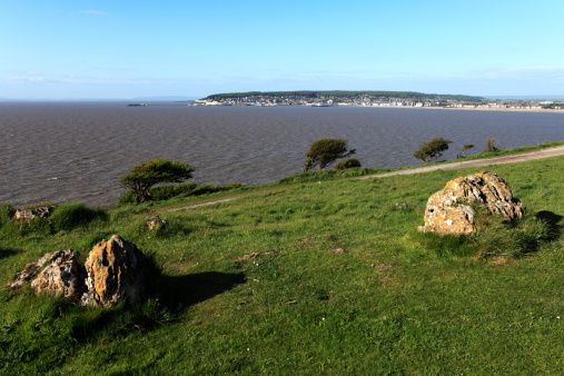 Weston-super-Mare「View over Brean Down, Weston Super Mare」:スマホ壁紙(10)