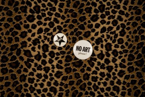 Rock Music「rock badges on a leopard tissue」:スマホ壁紙(13)