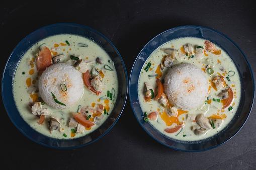 Jasmine Rice「Tom Ka Gai, Thai soup with chicken」:スマホ壁紙(13)