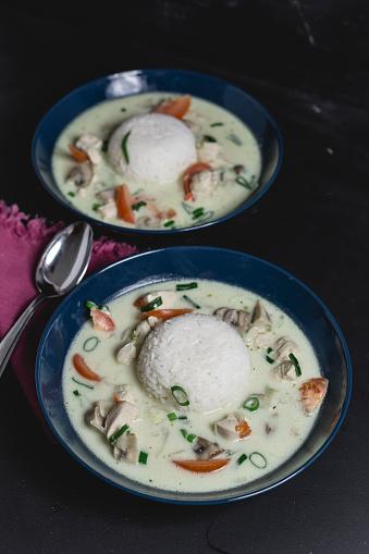 Jasmine Rice「Tom Ka Gai, Thai soup with chicken」:スマホ壁紙(12)