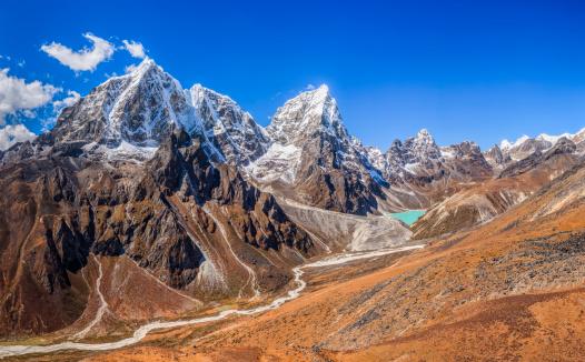 Khumbu「Taboche and Cholatse peaks」:スマホ壁紙(16)