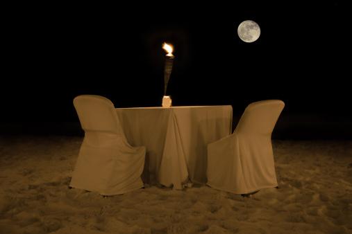 豪華 ビーチ「Dinner」:スマホ壁紙(10)