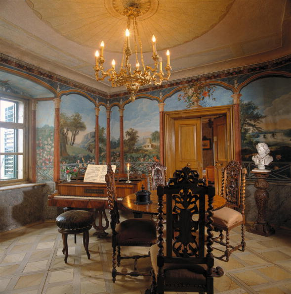 Musical instrument「Music chamber of the Beethoven Memorial-House in Gneixendorf near Krems, Lower Austria, Photograph, Around 2004」:写真・画像(12)[壁紙.com]