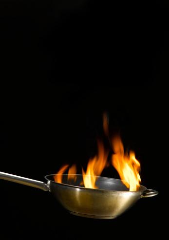 Wok「Flames in wok」:スマホ壁紙(9)