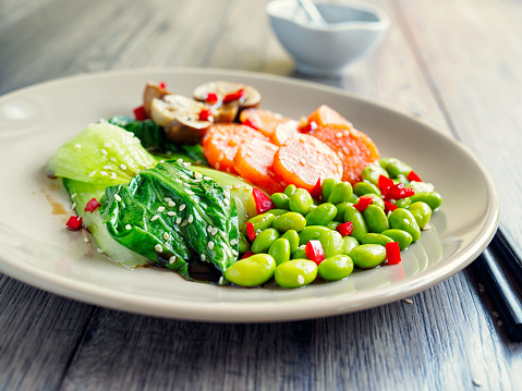 Soy Sauce「Healthy steamed vegetable」:スマホ壁紙(10)