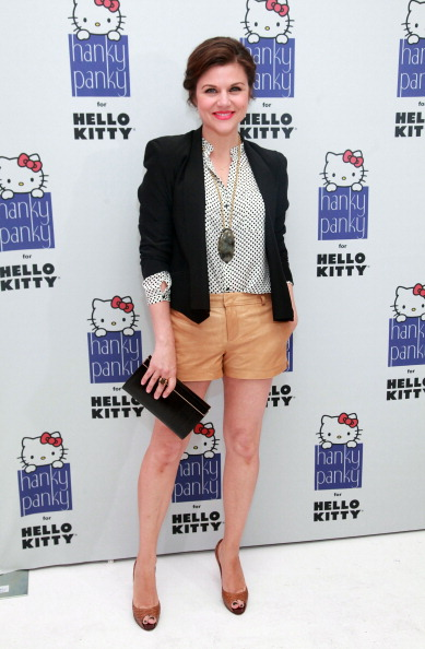 Beige Shorts「Hanky Panky For Hello Kitty Launch Benefiting The Human Society Of The United States」:写真・画像(8)[壁紙.com]