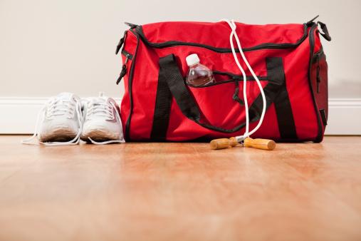 スポーツ「Sport bag with jump rope and sport shoes」:スマホ壁紙(6)