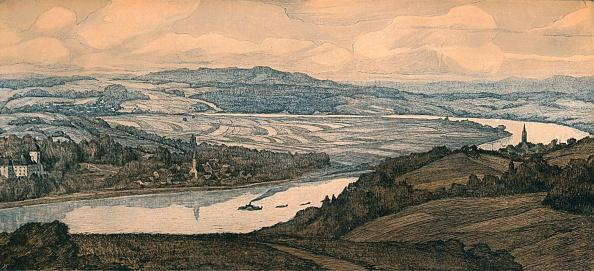 Horizon「'Persenburg on the Danube', c20th century」:写真・画像(8)[壁紙.com]