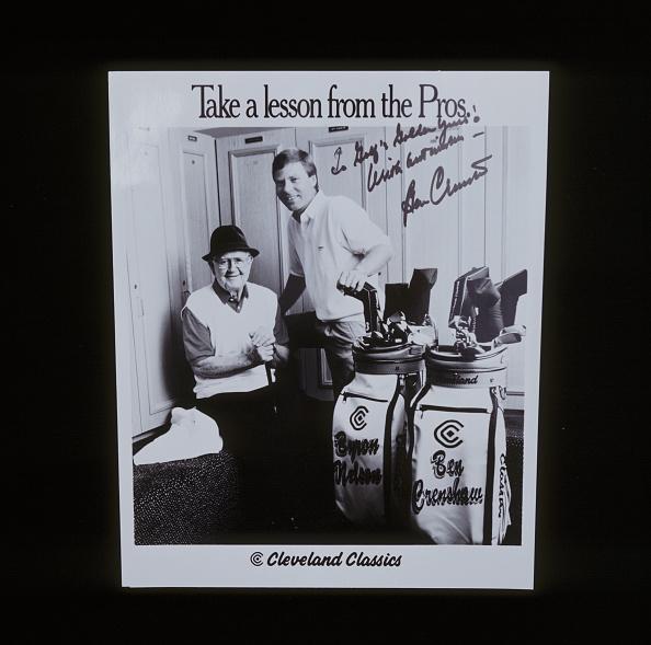 Best shot「Autographed Ben Crenshaw advertisement for golf equipment, c1970s.」:写真・画像(1)[壁紙.com]