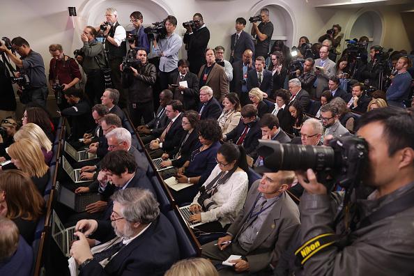 プレスルーム「President Obama Holds Press Conference At The White House」:写真・画像(12)[壁紙.com]