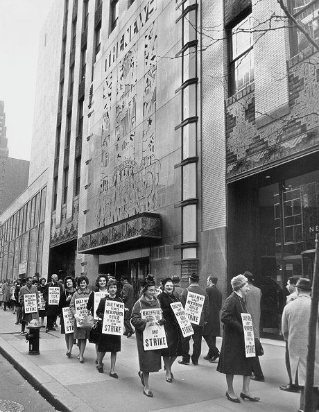 Employment And Labor「New York Daily News Strike」:写真・画像(19)[壁紙.com]