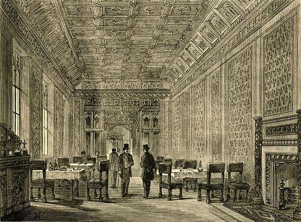 Model Home「The Refreshment-Room Of The House Of Lords」:写真・画像(6)[壁紙.com]