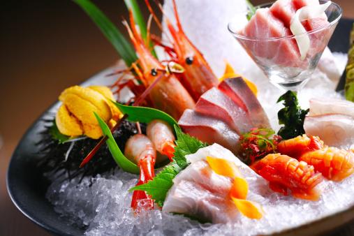 和食「Sashimi」:スマホ壁紙(9)