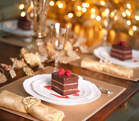 クリスマスケーキ「チョコレートケーキ」:スマホ壁紙(10)