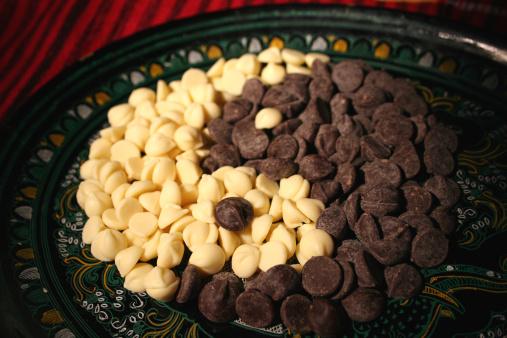 Feng Shui「Chocolate chip ying yang symbol」:スマホ壁紙(4)