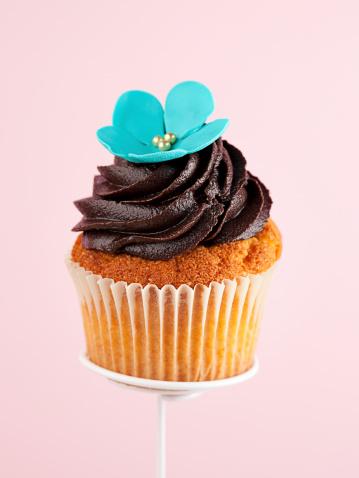 一切れ「チョコレートのカップケーキ」:スマホ壁紙(2)