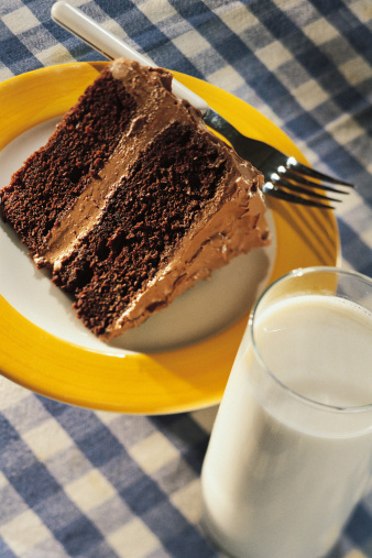 Picnic「Chocolate cake and milk」:スマホ壁紙(15)
