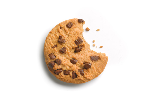 Trans Fat「Chocolate chip cookie with bite out」:スマホ壁紙(3)