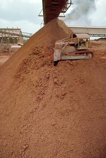 Bauxite「Piles of Bauxite at Suralco Refinery in Moengo」:スマホ壁紙(9)