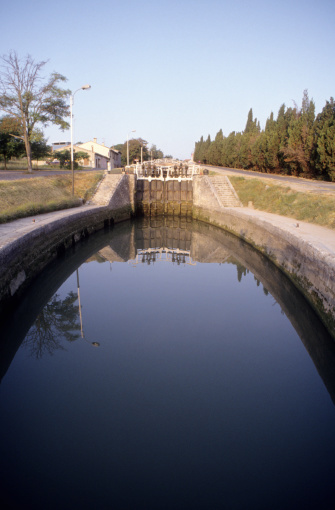 Beziers「the 9 locks (Fonseranes) major work on the Canal d」:スマホ壁紙(17)