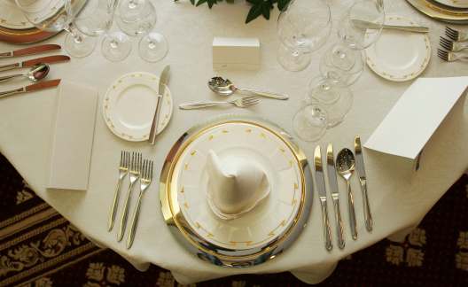 Place Setting「Round table setting」:スマホ壁紙(10)