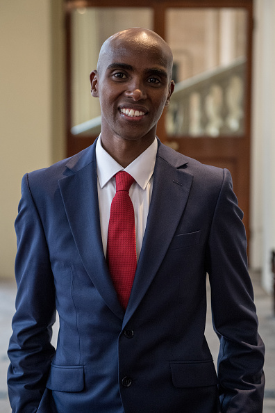 Mo Farah「2017 Queen's Young Leaders Awards Ceremony」:写真・画像(2)[壁紙.com]