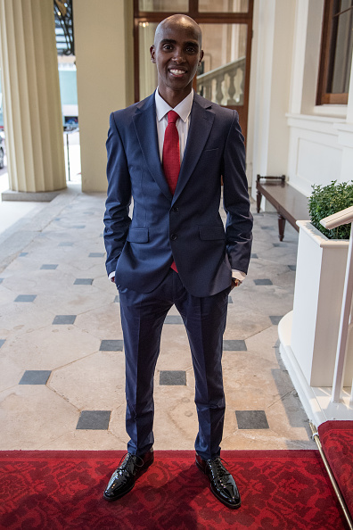 Mo Farah「2017 Queen's Young Leaders Awards Ceremony」:写真・画像(11)[壁紙.com]