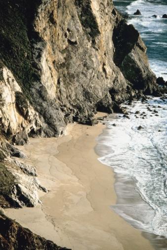 Pfeiffer Beach「Coast of Pfeiffer Beach in Big Sur, California, USA」:スマホ壁紙(16)