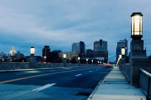 Pennsylvania「USA, Pennsylvania, Harrisburg, cityscape」:スマホ壁紙(12)