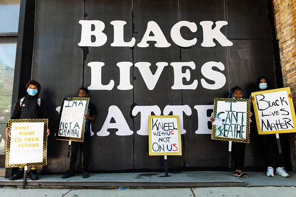 Social Movement「Anti-Racism Protests Held In U.S. Cities Nationwide」:写真・画像(7)[壁紙.com]
