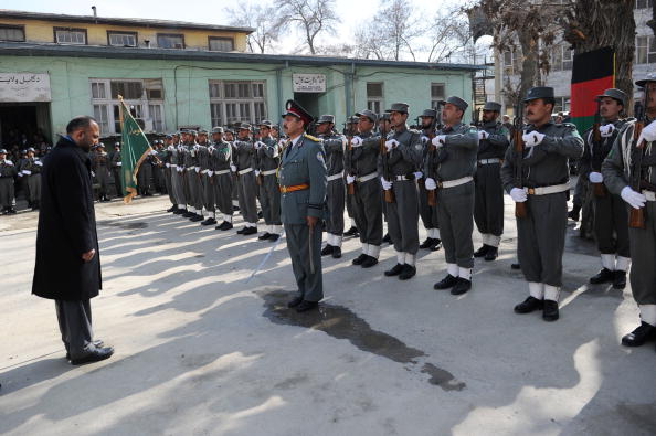 Kabul「Ceremony For Policemen Who Fought Taliban Fighters In Kabul Attack」:写真・画像(18)[壁紙.com]
