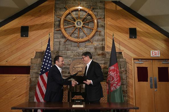 Maryland - US State「Secretary Of State John Kerry Hosts Afghan Presidential Delegation At Camp David For Diplomatic Talks」:写真・画像(4)[壁紙.com]