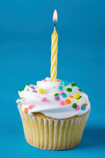Birthday「Birthday Cupcake」:スマホ壁紙(1)