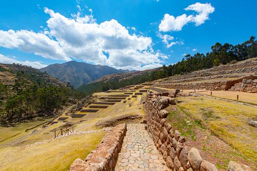 Peruvian Culture「Chinchero Inca ruins in the Sacred Valley, Peru」:スマホ壁紙(15)
