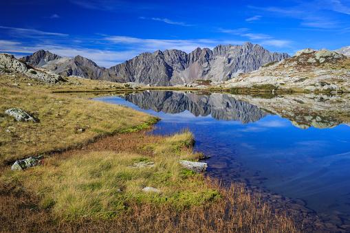European Alps「Lac Petarel dans le Parc National des Ecrins.」:スマホ壁紙(10)