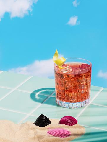Cocktail「Negroni Cocktail」:スマホ壁紙(0)