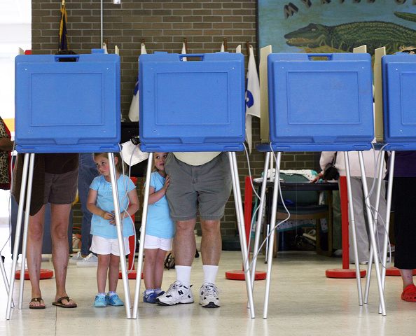 Democratic Party - USA「North Carolina Voters Go To The Polls」:写真・画像(5)[壁紙.com]