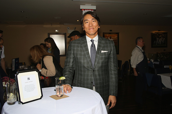 松井 秀喜「Delta Air Lines Presents New York Yankees Pinstripe Brunch Hosted By Josh Capon - Food Network & Cooking Channel New York City Wine & Food Festival presented By FOOD & WINE」:写真・画像(7)[壁紙.com]