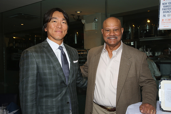Hideki Matsui「Delta Air Lines Presents New York Yankees Pinstripe Brunch Hosted By Josh Capon - Food Network & Cooking Channel New York City Wine & Food Festival presented By FOOD & WINE」:写真・画像(5)[壁紙.com]