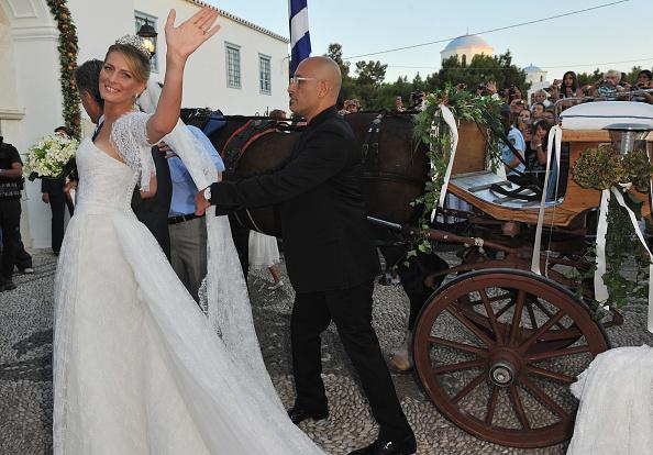 Spetses「Wedding of Prince Nikolaos and Miss Tatiana Blatnik - Wedding Service」:写真・画像(14)[壁紙.com]