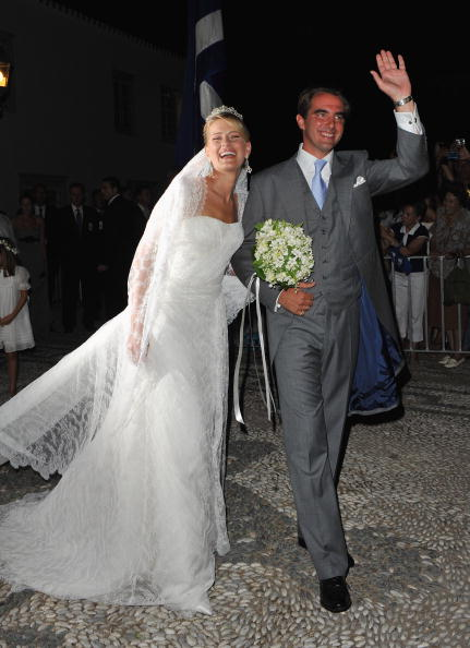 Spetses「Wedding of Prince Nikolaos and Miss Tatiana Blatnik - Wedding Service」:写真・画像(11)[壁紙.com]