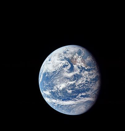 1969「Planet Earth taken by the Apollo 11 crew.」:スマホ壁紙(7)