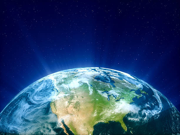 Planet Earth - North America:スマホ壁紙(壁紙.com)