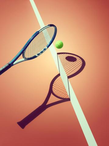Net - Sports Equipment「Sports shadow」:スマホ壁紙(4)