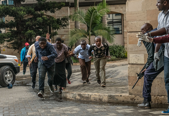 Kenya「Attack On Hotel Complex in Nairobi」:写真・画像(1)[壁紙.com]