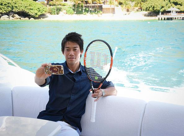 錦織 圭「Tennis Pro Kei Nishikori Enjoying Some Down Time In Acapulco, Mexico」:写真・画像(7)[壁紙.com]