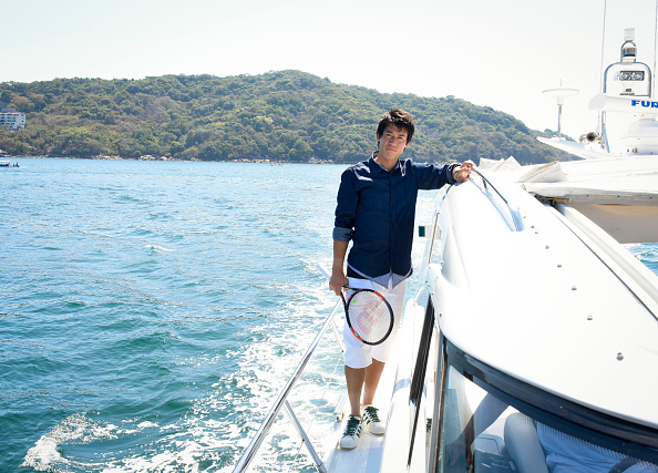 錦織 圭「Tennis Pro Kei Nishikori Enjoying Some Down Time In Acapulco, Mexico」:写真・画像(1)[壁紙.com]